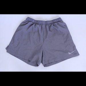 Women's gray dri-fit Nike shorts